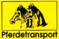 Warnschild  Pferdetransport