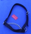Calves Halter with Chin Chain    black